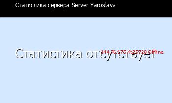 Сервер Minecraft Server Yaroslava