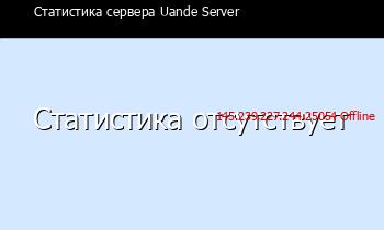 Сервер Minecraft Uande Server