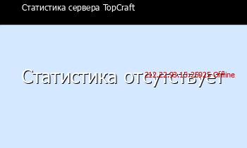 Сервер Minecraft TopCraft