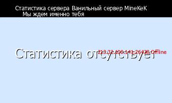 Сервер Minecraft Сервер MineKeK