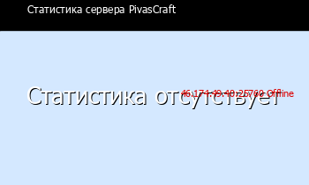 Сервер Minecraft PivasCraft