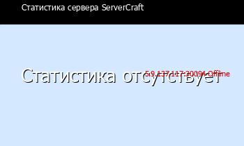 Сервер Minecraft ServerCraft