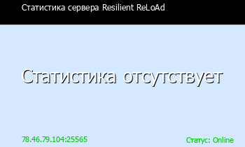 Сервер Minecraft Resilient ReLoAd
