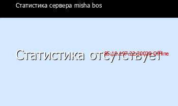 Сервер Minecraft misha bos