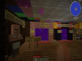 Спавн сервера, комната выбора миров режима игры SANDBOX