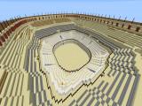 Арена /warp pvparena в пвп мире World1 в режиме игры SANDBOX