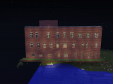 Вот главное здание Где есть еще выжившие