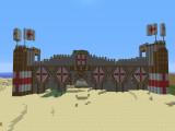 Замок в режиме игры SANDBOX